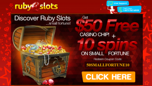 Ruby Slots Casino Free Chip Plus Free Spins