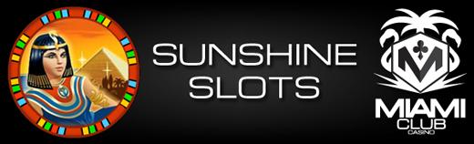 Sunshine Slots Tournament Miami Club Casino