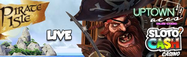 New Pirate Isle Slot Bonuses