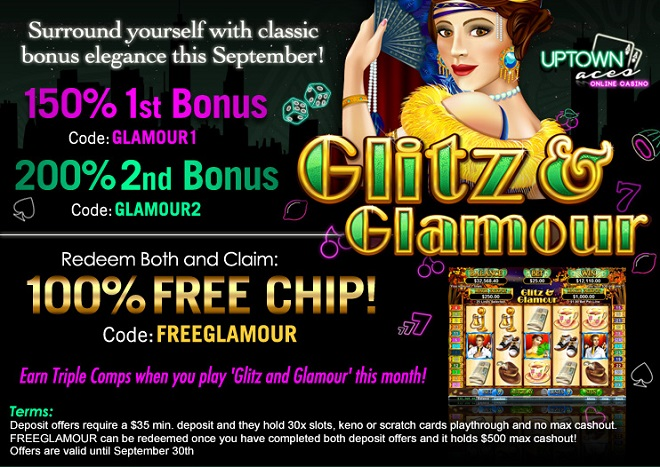 September 2015 Casino Bonuses