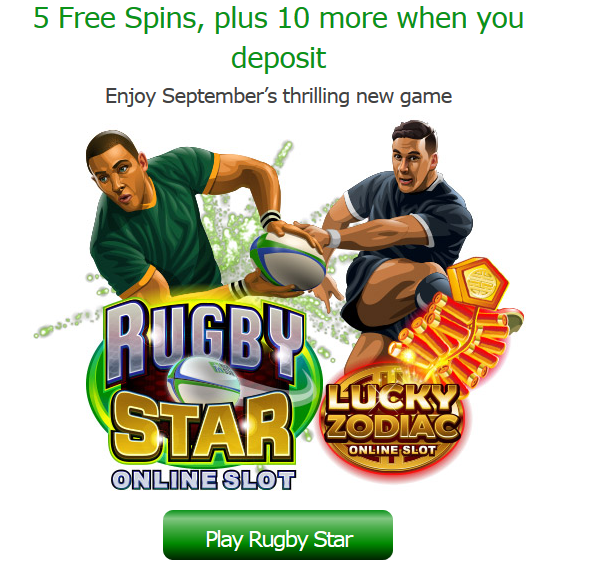 September 2015 New Microgaming Slots Free Spins