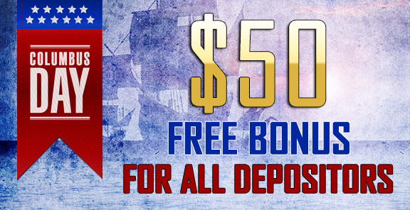 Columbus Day Casino Bonus Grande Vegas Casino