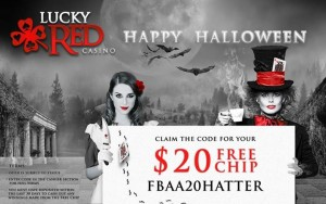 Lucky Red Casino Free Halloween Bonus