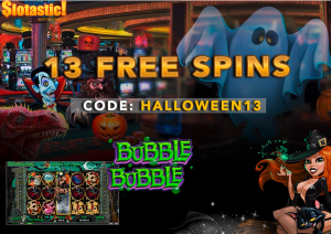 Slotastic Casino Halloween Free Spins