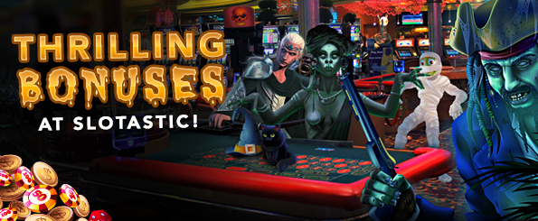 Halloween Freeroll Slots Tournament Slotastic Casino