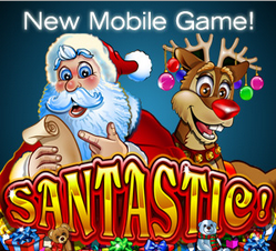 Santastic Mobile Slot Free Spins Uptown Aces Casino