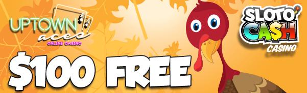 Free Thanksgiving Bonus Uptown Aces Casino Sloto Cash Casino
