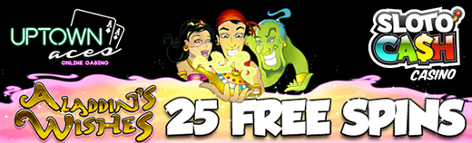Free Spins Bonus at 2 RTG Casinos
