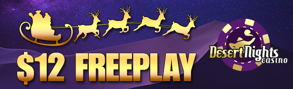 Desert Nights Casino Free Play Christmas Bonus