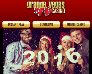 Grande Vegas Casino New Year 2016 Bonuses