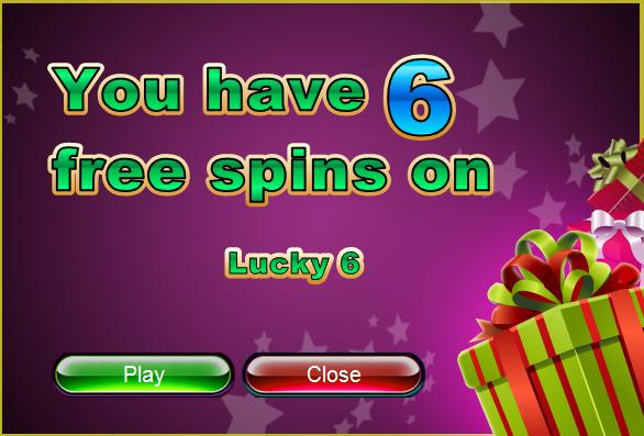 Slotastic Casino New Lucky 6 Slot Bonuses