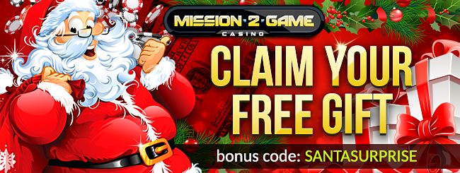Mission 2 Game Casino Christmas 2015 Bonuses
