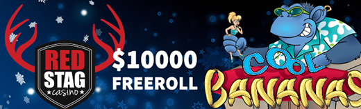 New Red Stag Casino Freeroll Slots Tournament