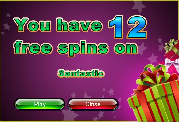Santastic Slot Free Xmas Spins Slotastic Casino