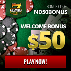 7 Reels Casino Exclusive No Deposit Bonus 2016