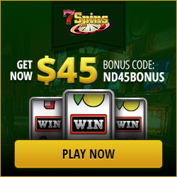 7 Spins Casino Exclusive Bonus 2016