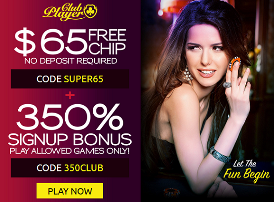 club player casino welcome bonus