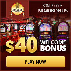 Exclusive Thebes Casino No Deposit Bonus