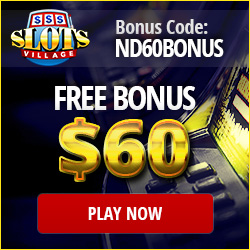 Slots Village Casino Free Exclusive Bonus 2016