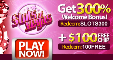 Slots of Vegas Casino Welcome Bonuses