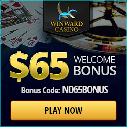 Free Winward Casino Exclusive Bonus