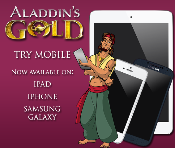Aladdins Gold Casino Mobile Free Spins