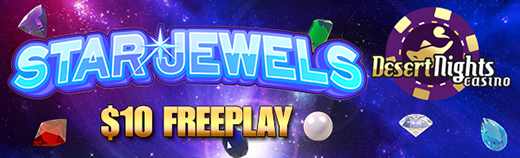 Desert Nights Casino Star Jewels Mobile Slot Free Play