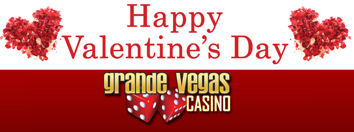 Free Valentines Day 2016 Bonus Grande Vegas Casino