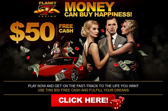 Planet 7 Casino Free No Deposit Code
