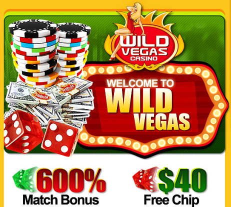 wild vegas casino sign up bonus