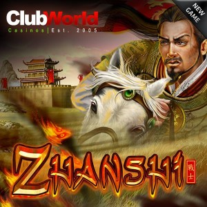 Club World Casino Zhanshi Slot Free Spins