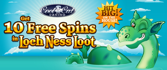 Cool Cat Casino Loch Ness Loot Slot Free Spins