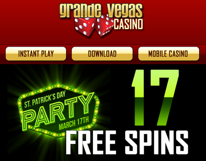 grande vegas casino sign up bonus