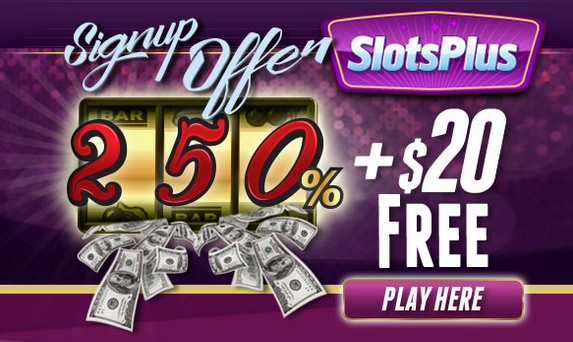 online casino sign up offer