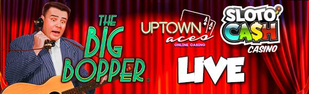 The Big Bopper Slot Bonuses at 2 Casinos