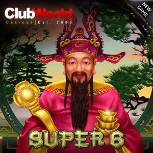 Club World Casino Super 6 Slot Free Spins