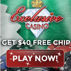 Exclusive Casino June 2016 No Deposit Bonus