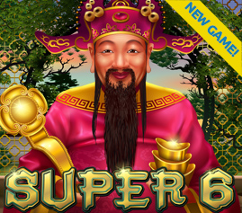 Jackpot Capital Casino Super 6 Slot Bonuses