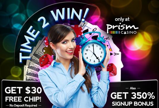 prism online casino no deposit bonus