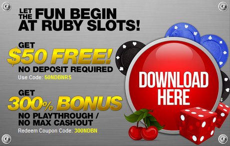 ruby casino no deposit