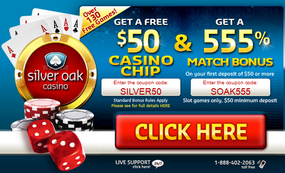 Silver Oak Casino New Player Bonuses