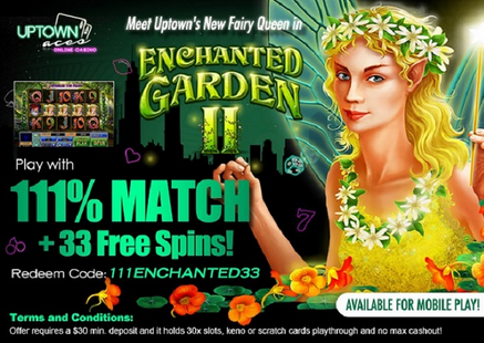 free play slots of vegas enchanted garden