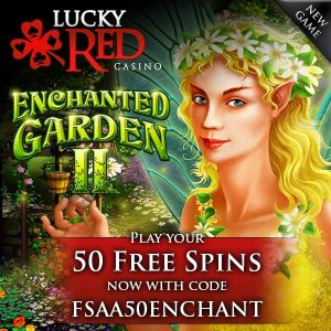 Lucky Red Casino Enchanted Garden II Slot Free Spins