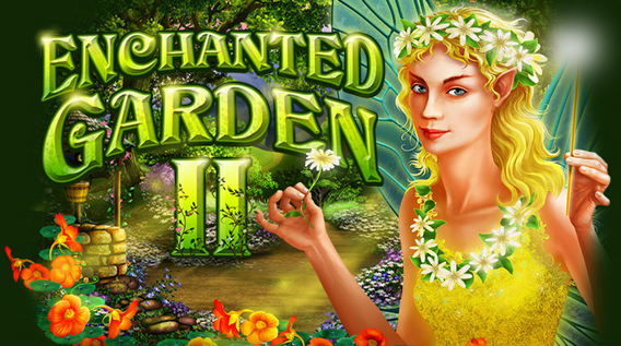 Aladdins Gold Casino Enchanted Garden II Slot Free Spins