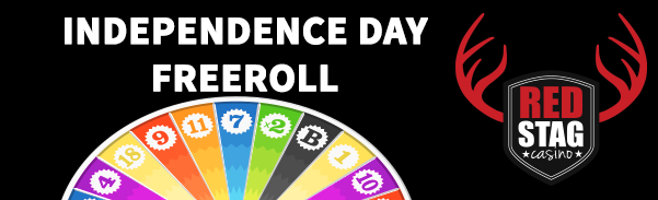 Red Stag Casino Independence Day Freeroll