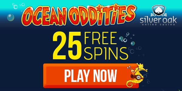 Silver Oak Casino Ocean Oddities Slot Free Spins