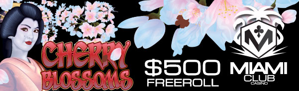 Cherry Blossoms Slot Freeroll
