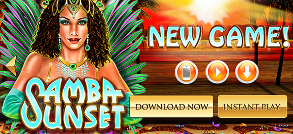 Grand Fortune Casino Samba Sunset Slot Bonuses
