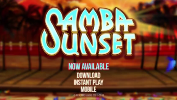 Aladdins Gold Casino Samba Sunset Slot Free Spins