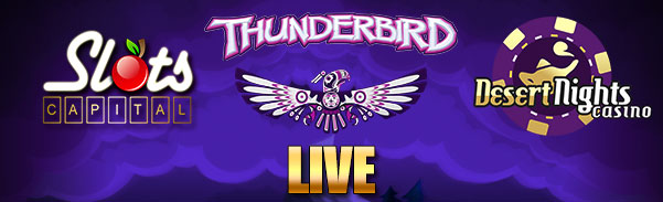 New Thunderbird Slot Bonuses